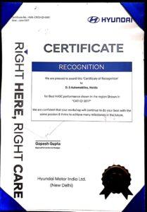 ds hyundai service center noida Achievements6